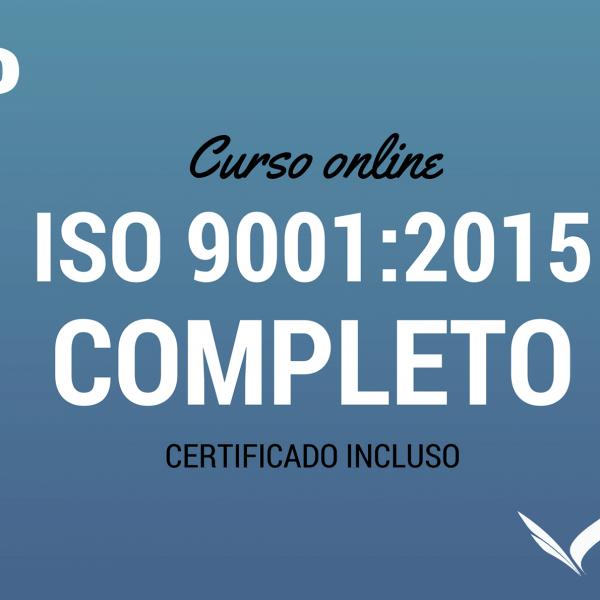 CURSO COMPLETO ISO 9001:2015